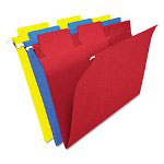 Ampad SelecTab Hanging File Folders, 1/3 Tab, Letter, Assorted