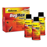 Enforcer BugMax Fogger, 2 oz, For Ants/Cockroaches/Crickets/Spiders