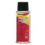 Enforcer Purge I Micro Metered Flying Insect Killer, 3.2oz Aerosol, Unscented, 6/Carton