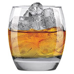 Anchor Hocking Reality Rocks Glass, 10 oz, Clear