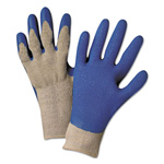 Anchor Latex Coated Gloves 6030, Gray/Blue, Medium