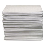Anchor Oil-Only Sorbent Pads, Gray, 15 X 17, 100/bundle