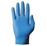 Ansell TNT Blue Single-Use Gloves, Large