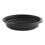 Anchor Packaging MicroRaves Incredi-Bowl Base, 24 oz, Black, 150/Carton