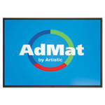Artistic Office Products AdMat Counter Mat, 13 x 19, Black Base