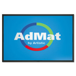 Artistic Office Products AdMat Counter Mat, 11 x 17, Black Base