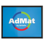 Artistic Office Products AdMat Counter Mat, 8 1/2 x 11, Black Base