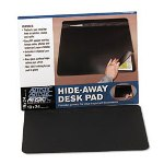 "Artistic Office Products Self-Healing Desk Pad with Privacy Cover, 19"" x 24"", Black"