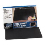 "Artistic Office Products Self-Healing Desk Pad with Privacy Cover, 20"" x 31"", Black"