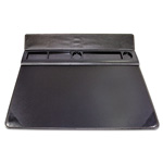 Artistic Office Products Executive Desk Pad Organizer with Storage, Matte Finish, 22 x 17, Black