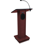 "Amplivox Lectern W/ Speaker, 150W Power Amp, 43"" x 21""15"", MY"