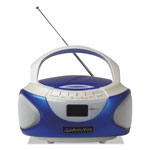 Amplivox CD Boombox with Bluetooth, Blue