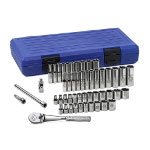 "Armstrong Tools 50 Piece 1/4"" Drive 6 Point Socket Set"