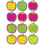 Ashley Scribble Apples Magnets, Multi
