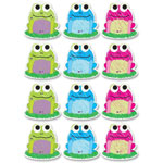 Ashley Decorative Dry-Erase Magnet, Scrible Frog, 12/PK, Multi