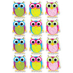 Ashley Scribble Owls Magnets, Multi
