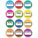 Ashley Months Of Year Magnets, Multi