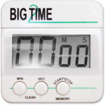 Ashley Magnetic Digital Timer, Black/White