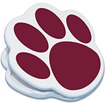 Ashley Magnetic Paw Clip, Maroon