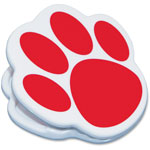 Ashley Magnetic Paw Clip, Red