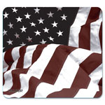 "Allsop Art Mouse Pad, American Flag Design, 8 3/5"" x 8"""