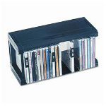 Allsop 52010 Slotless Stackable CD Storage Organization System for 25 Jewel Cases