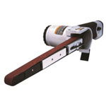 "Astro Pneumatic Air Belt Sander (1/2"" x 18"") with 3 Piece Belts"