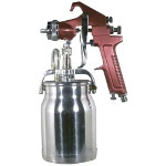 Astro Pneumatic Gun 1.8mm Siphon Feed Primer with 1 Qt. Aluminum Cup