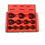"Astro Pneumatic 12 Piece 3/8"" Drive SAE Crowfoot Wrench Set"