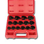 "Astro Pneumatic 15 Piece 3/8"" Drive Metric Crowfoot Wrench Set"