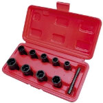 "Astro Pneumatic 9 Piece 3/8"" Drive Twist Socket Damaged Fastener Remover Set"