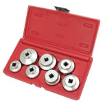 Astro Pneumatic 7 Piece Oil Filter Removal Socket Set