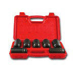 Astro Pneumatic 7 Piece Axle Nut Socket Set