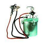 Astro Pneumatic 2 1/4 Gallon Pressure Tank w/Spray Gun and 12' Hose