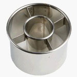 August Thomsen Cutter Doughnut Stainless Steel 3.5""