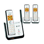 AT&T CL81309 DECT 6.0 Digital Three Handset Cordless Telephone with Caller ID/Call Waiting