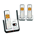AT&T DECT 6.0 Digital Three Handset Answering System with Caller ID/Call Waiting