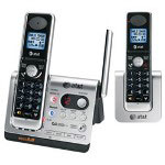 AT&T TL92278 DECT 6.0 Two Handset BLUETOOTH® Cordless Telephone System with Digital Answering System