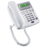 AT&T White Speakerphone, CID/Call Waiting, Trilingual, Data Port