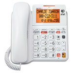 AT&T Corded Digital Answering System, White