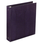 "Aurora 100% Recycled ProFormance Ring Binder, 1"" Capacity, Purple"