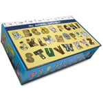 Aurora Teachers Aide Pencil Box, 24/CT