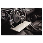 AutoExec Automobile Steering Wheel Attachable Work Surface, Gray