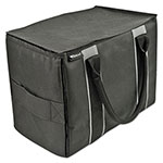 AutoExec Mini File Tote, Nylon, 600 Denier Nylon, 14 x 8 x 10, Black