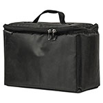 AutoExec Cooler Tote, 420 Denier Nylon, 13 x 6 x 9 1/2, Black