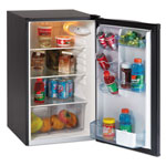 Avanti Products Refrigerator, 4.3CF Cap, Energy Star Compliant, Black