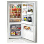 Avanti Products Bottom Mounted Frost-Free Freezer/Refrigerator, 10.2 Cubic Feet, White