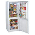 "Avanti Products Refrigerator, Frost Free, 9.2 Cu. Ft., 32-3/4"" x 27"" x 60"", WE"