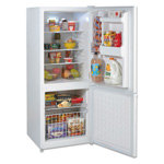 Avanti Products Bottom Mount Frost Free Freezer / Refrigerator