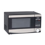 Avanti Products 0.7 Cu.ft Capacity Microwave Oven, 700 Watts, Stainless Steel and Black
